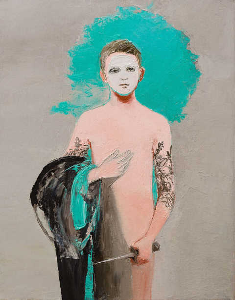 Lisa-Wright-Young-Pretender-2015-Oil-on-canvas-50-x-40-cm-Coates-Scarry Web